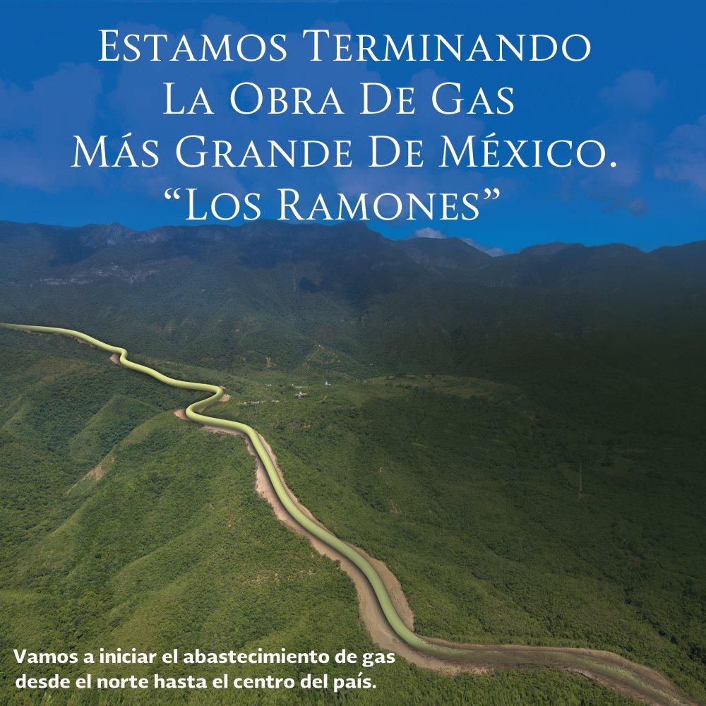 El gasoducto Los Ramones es la obra de transporte de gas más grande de México de los últimos 40 años. https://t.co/7qy7cwrDIE