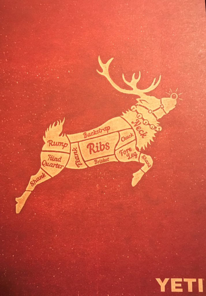 This year's @YETICoolers Christmas card is so wrong, I love it. https://t.co/mbyW94Htul