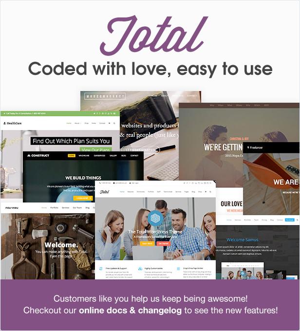 The Total #WordPress theme https://t.co/7ETQdWhgfm #webdesign #webdev #templates https://t.co/PxugRO7Wbn