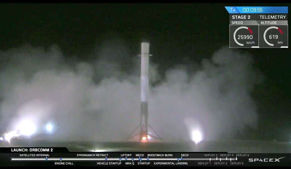 Amazing: #SpaceX just achieved first vertical landing of an orbital rocket stage https://t.co/T1Rdu1FsXY