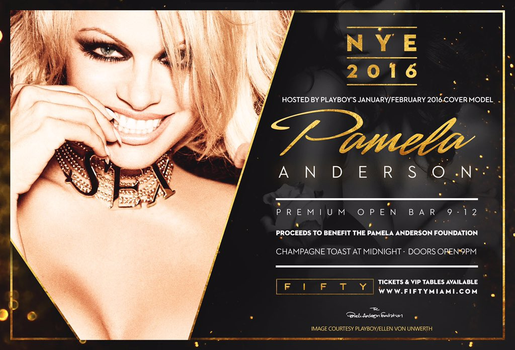 RT @elainelancaster: RT Please join the Legendary @pamfoundation as she host #NYE2016 & I join her for added dazzle. @viceroymiami #Fun htt…