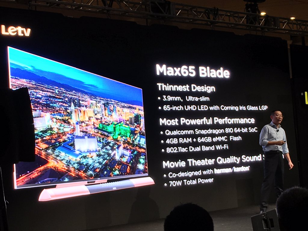 @letvusa LeTV  Max65 Blade is amazing with 3.9mm ultra-slim https://t.co/ngFlQNj5YM