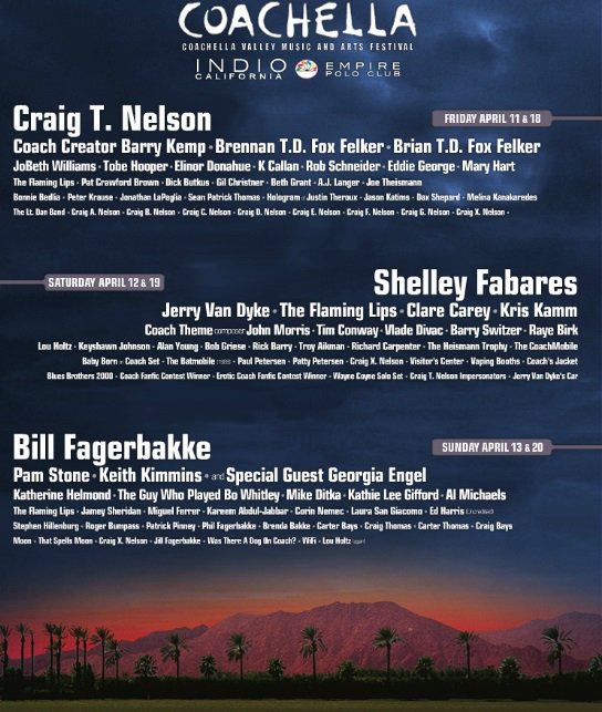 I honestly can't decide which day to go, they're all stacked. #Coachella https://t.co/0eSrCwe43h