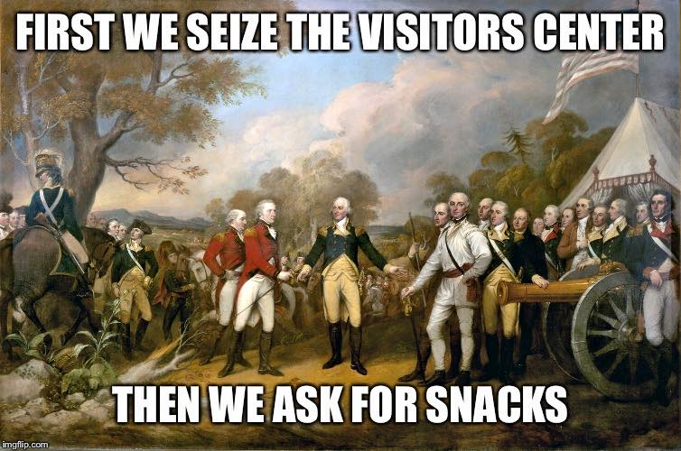 #Occupy The Snack Bar. #YallQaeda https://t.co/Z5ZKyKDgOa