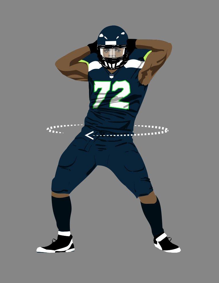 Does anybody know who made this?? I LOVE IT!! #GOHAWKS #12s #MichaelBennett #seahawks #SEAvsAZ https://t.co/kKC8FMBNop