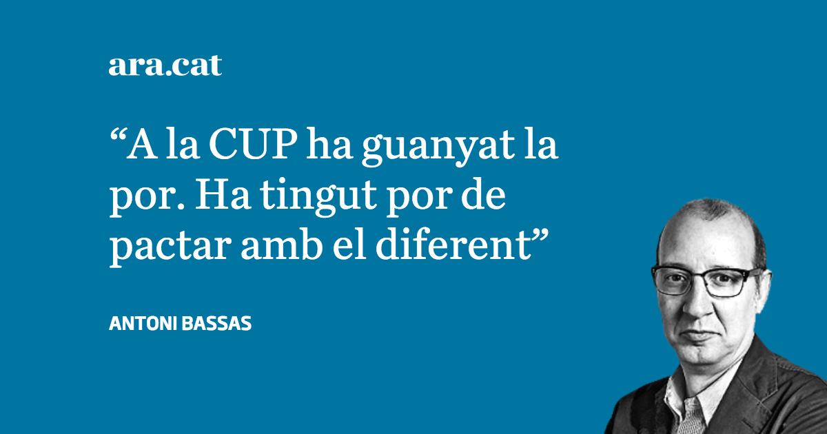 'De la por d'una part de la CUP a l'esperança del país', article d'@antonibassas https://t.co/fza6ZutMxO https://t.co/B2ULEf4Y4s
