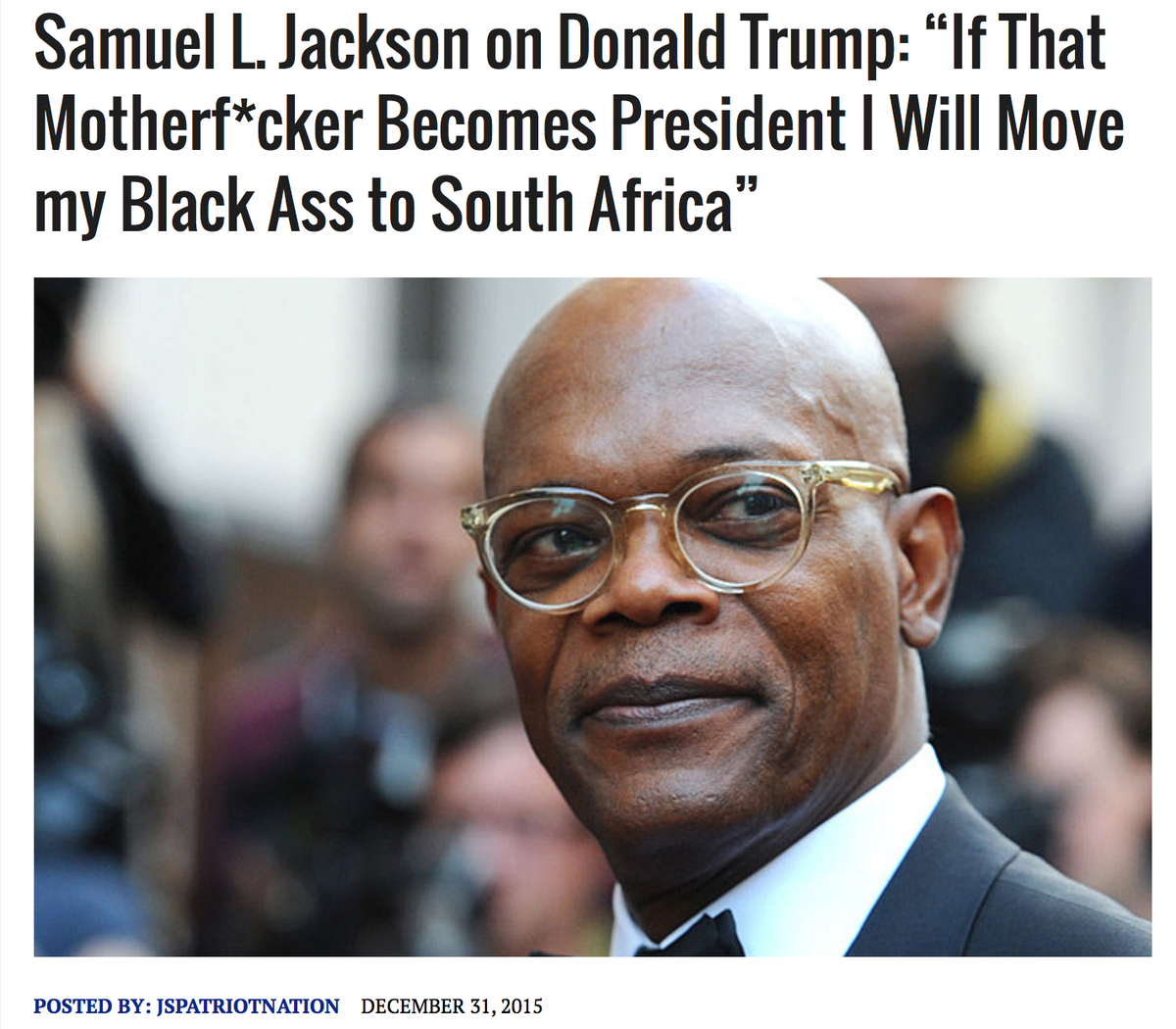 How can you not love Samuel Jackson? https://t.co/t3EOsDLwwC