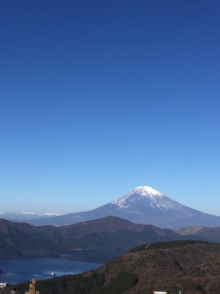 今日の富士山。大観山。 #富士山ノ会 https://t.co/8v4vEK7aR7