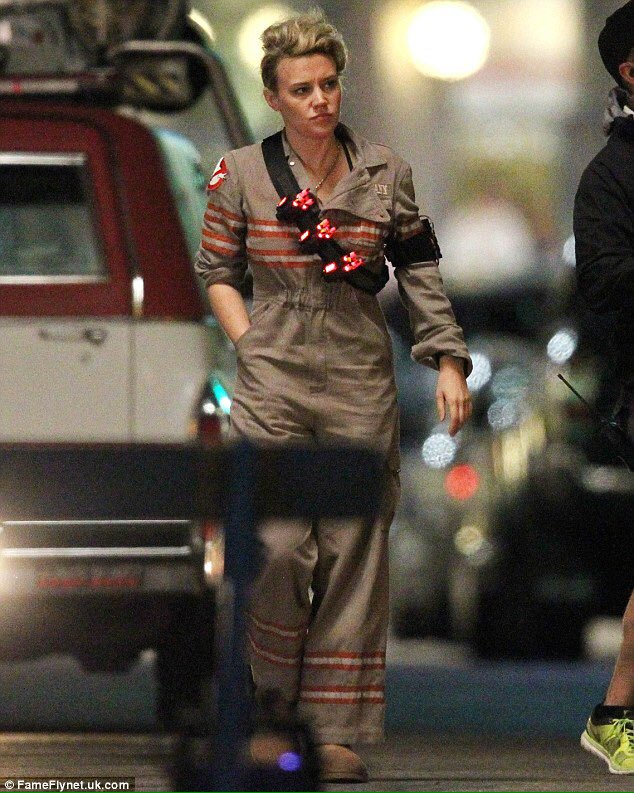 Kate McKinnon ghostbusters hair https://t.co/AEazq6tN6h