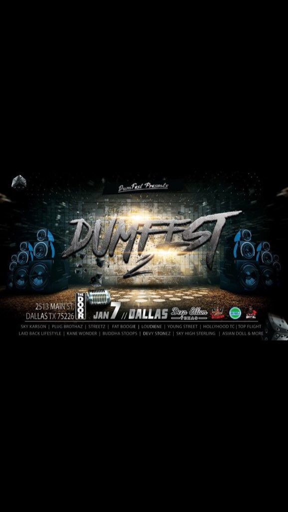 #DumFest2 https://t.co/EE3rHT0J3Y
