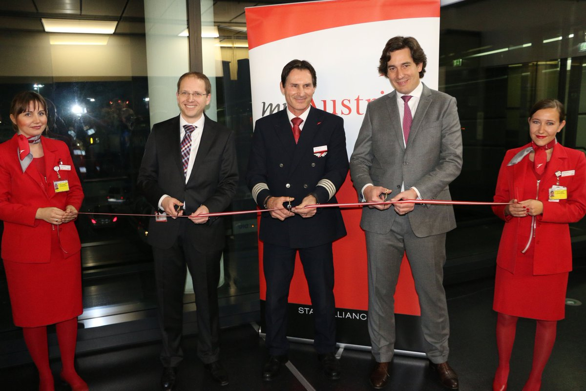 First Austrian Airlines Embraer Jet Took Off Today for Inaugural Flight to Stuttgart: