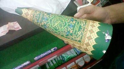 Tentang Terompet Tahun Baru Dari Sampul Al Quran - AnekaNews.net