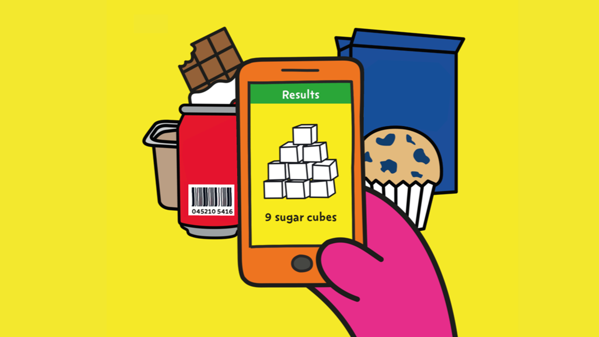 Find the total sugars in food and drink easily with the new #SugarSmart app https://t.co/sK6nVEE80b https://t.co/QyYcSgDzOK