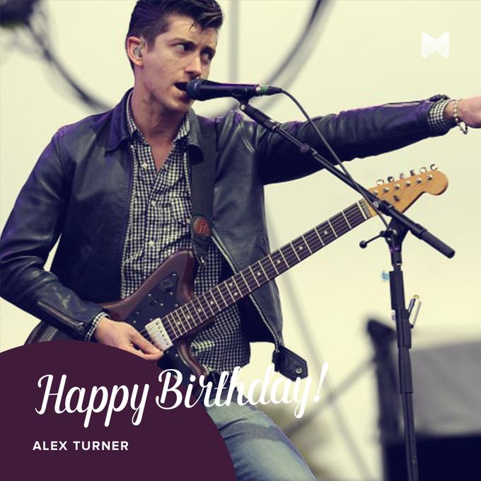 Happy birthday to Alex Turner of the