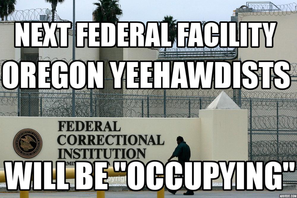 Next Federal Facility #Oregon #YeeHawdists Will Occupy #OregonUnderAttack #Oregonstandoff  #YeeHawd #WhiteGuySIS https://t.co/0GcYvUuvKK