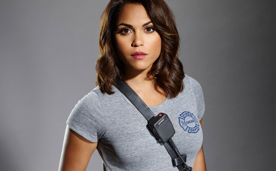Chicago Fire star @monicaraymund talks firefighter training and LGBTQ rights! https://t.co/nftdZDFOjY https://t.co/x5EVn8SLc3
