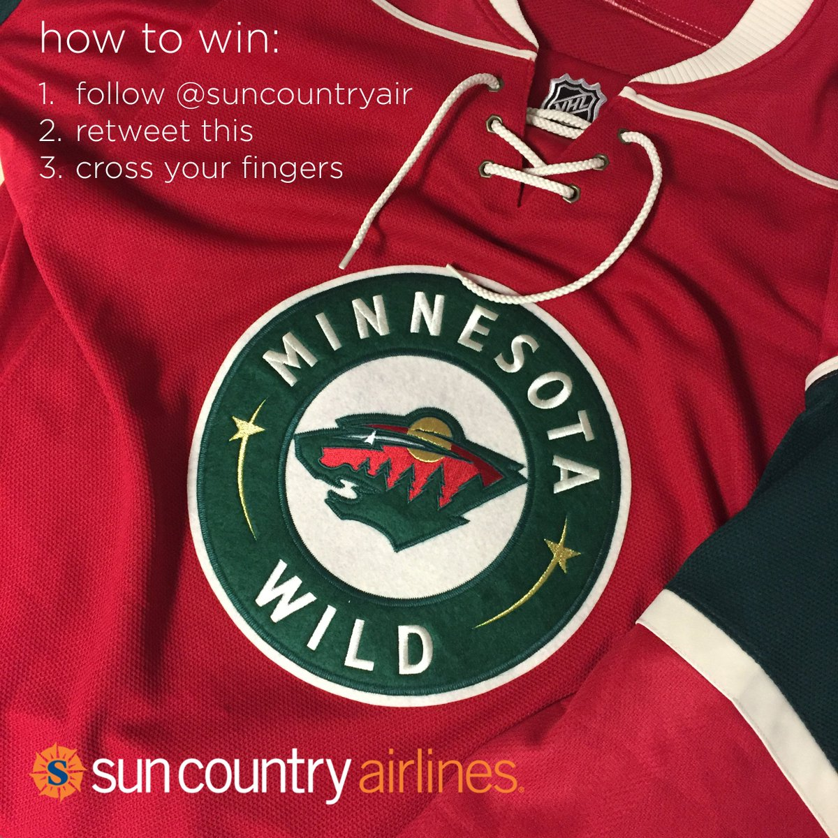 New Year – New MN Wild Jersey! Follow and RT for a chance to win! Official rules: https://t.co/OwEI28IgKG https://t.co/Z1dH4UpANb