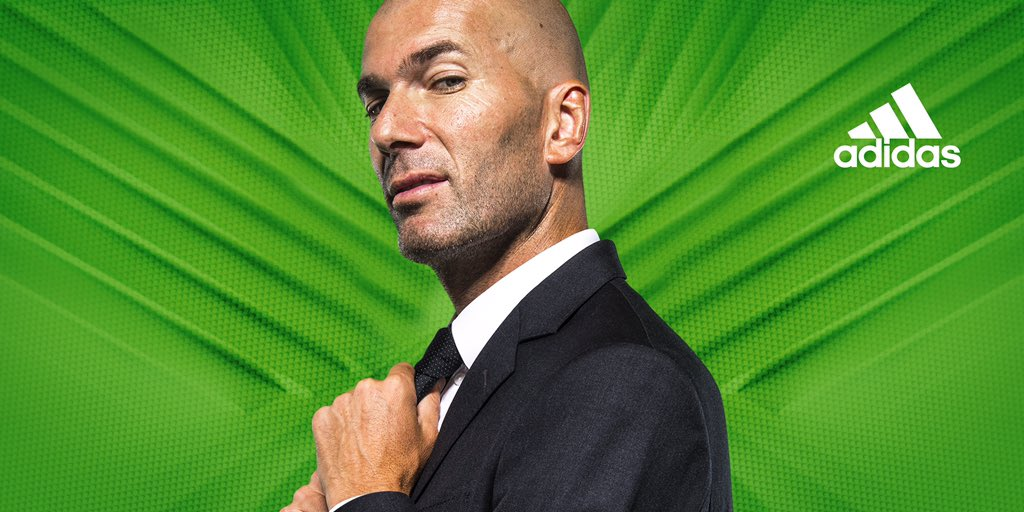 Zinedine Zidane: The Boss of Madrid. #BeTheDifference https://t.co/hh05KKEQMm