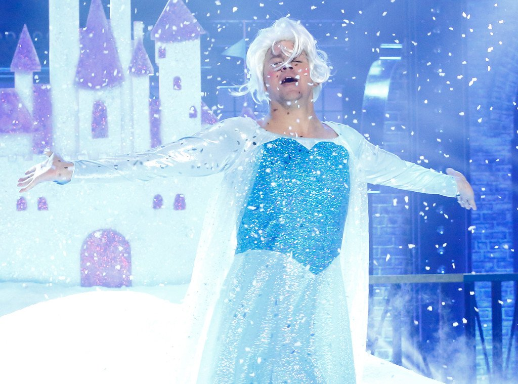Channing Tatum makes for a very convincing Elsa: