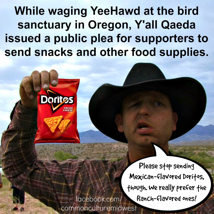 WARNING: The Y'all Queda is waging YeeHawd and they are coming to confiscate your snacks. #YallQaeda #P2 https://t.co/BTgPjJNYnW