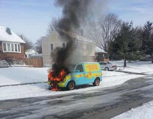 Scooby and the gang learned a valuable lesson about meddling today. https://t.co/6pSheBNiKr