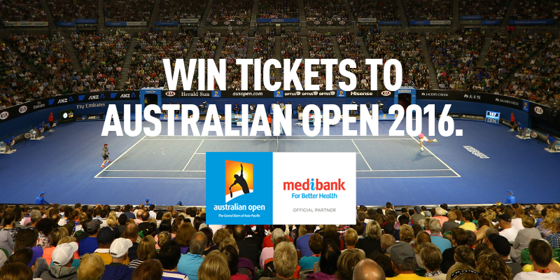 22 double passes up for grabs to the @AustralianOpen, enter at https://t.co/RNxeC28nfq. Good luck! #AusOpen https://t.co/VCgbaJgjXQ