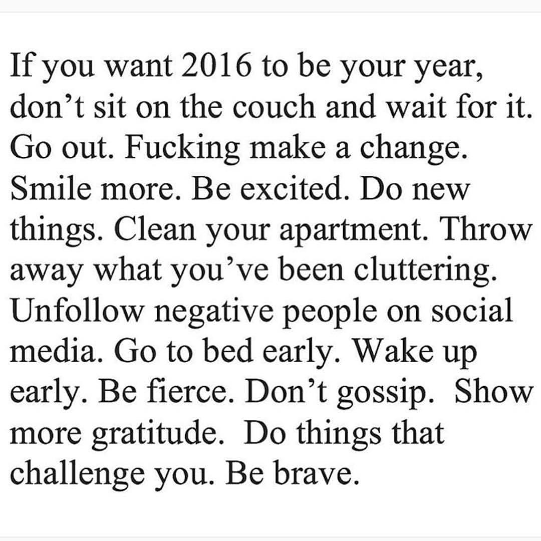 2016 Goals https://t.co/PP4KLrCYjV