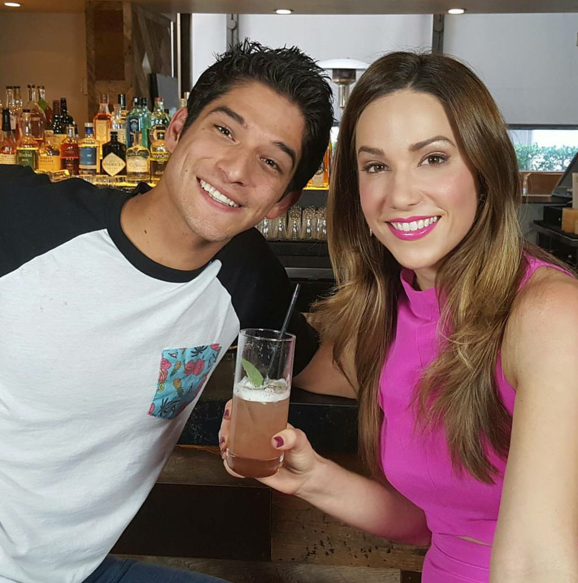 Tyler Posey tells me all about #TEENWOLF5BTODAY in @TheWrap's #DrinkingWiththeStars watch-> https://t.co/2MwEQWPLYb https://t.co/d7z9GftIXL