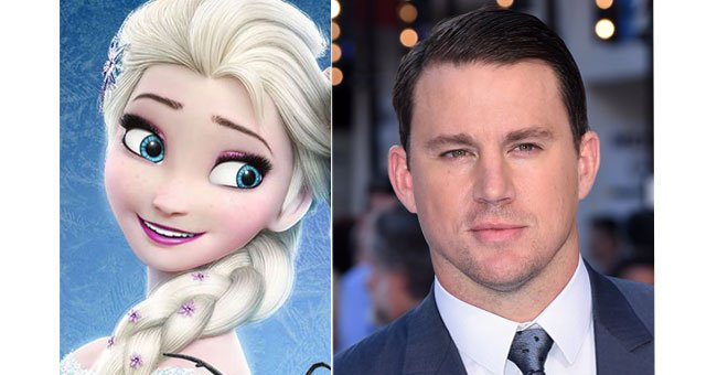 Erm is Channing Tatum staring in Frozen