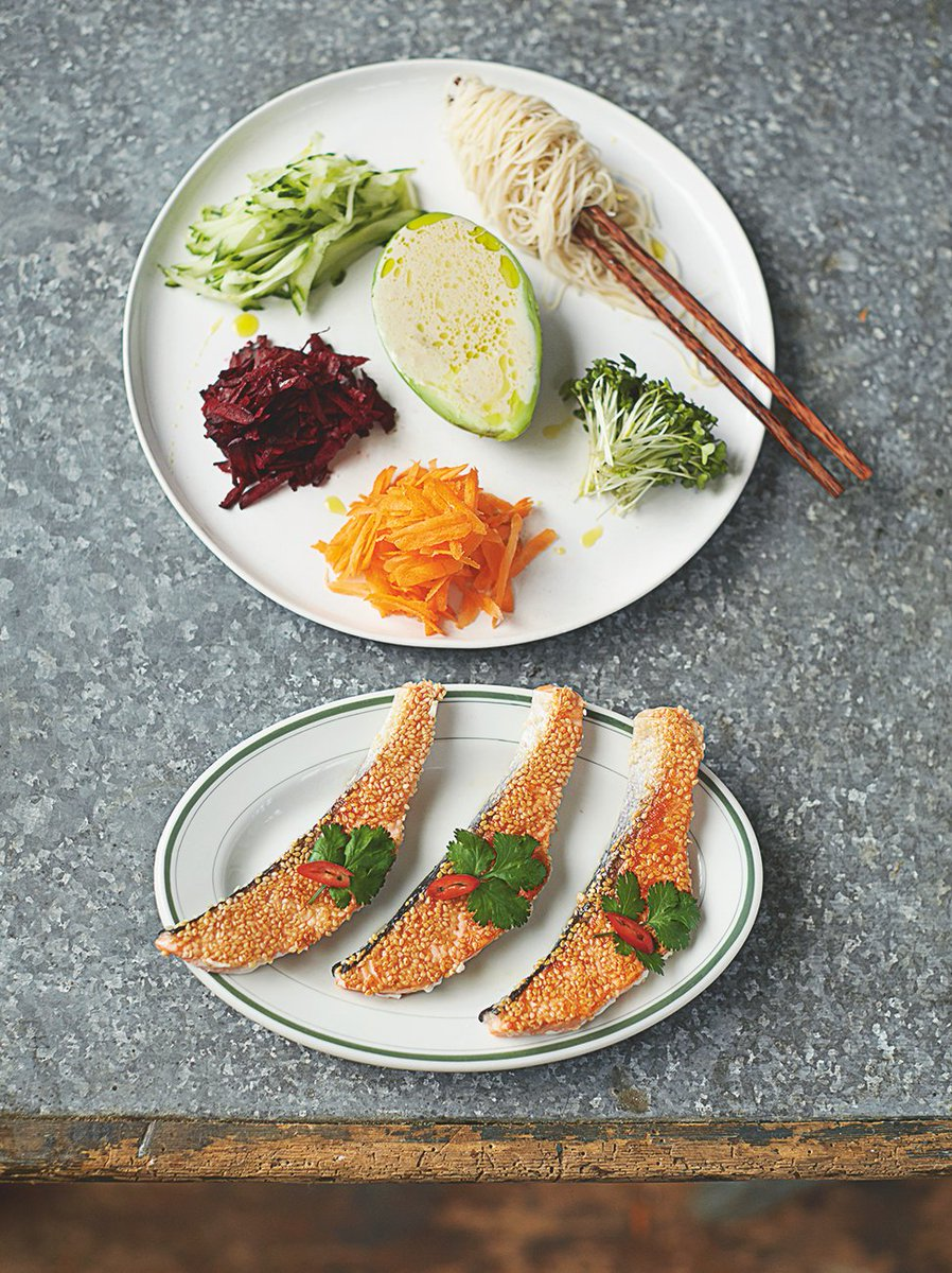 Enjoy this fantastic, #healthy sesame seared salmon for today's #recipeoftheday: https://t.co/FC2y2dynph https://t.co/Fm9IHqJEAw