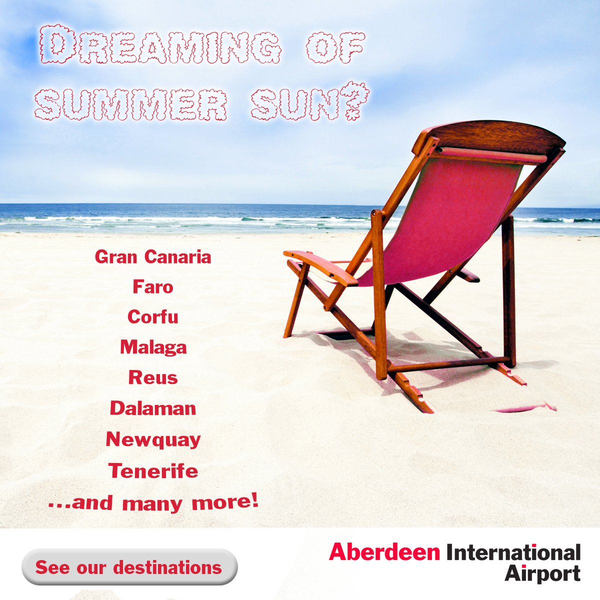 Summer dreaming? We've a destination for everyone including Gran Canaria, Faro, Corfu & more