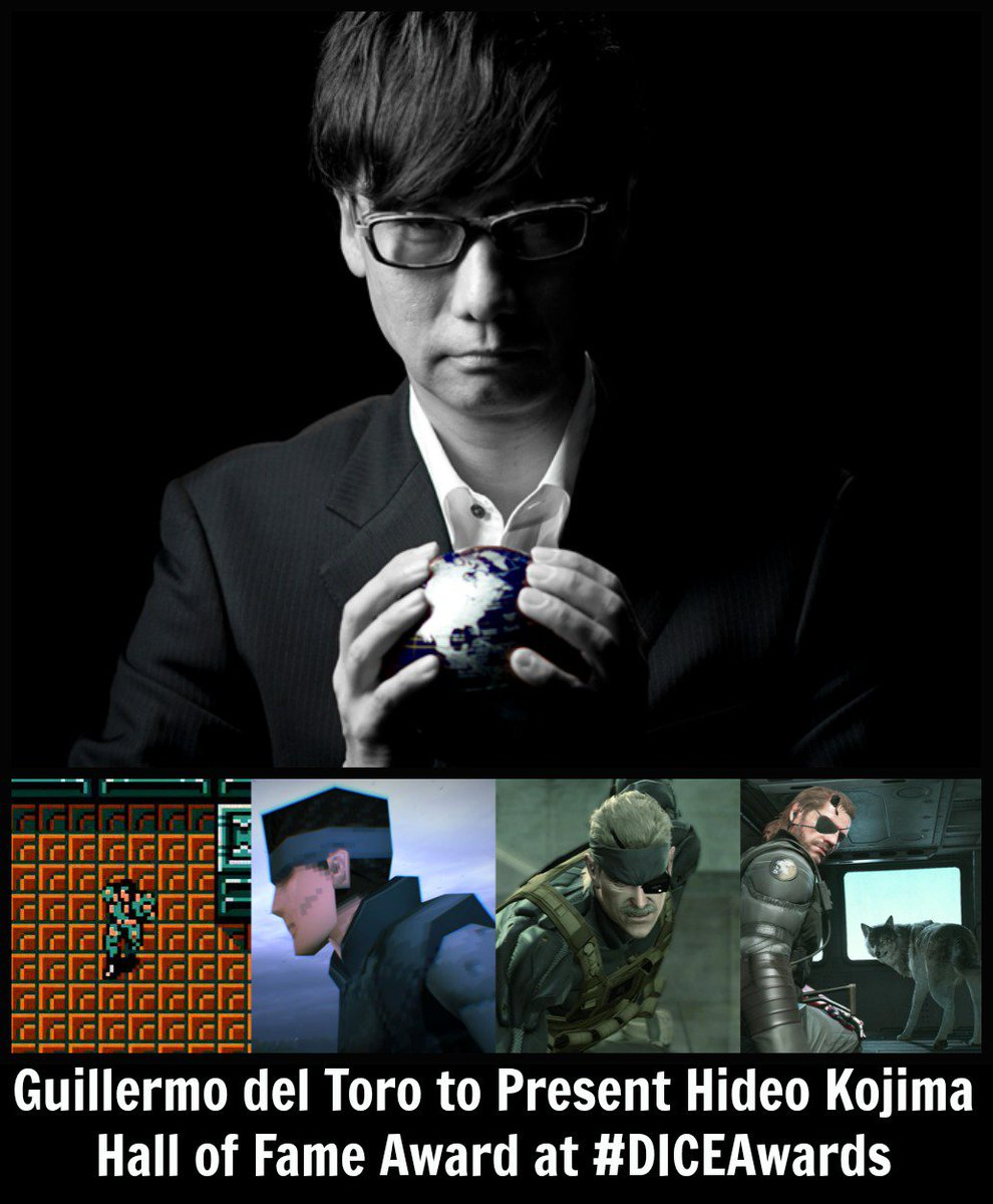 Are you a @HIDEO_KOJIMA_EN fan?  https://t.co/AllCanHtAD #DICEAwards @RealGDT https://t.co/DCVCEZCJ03