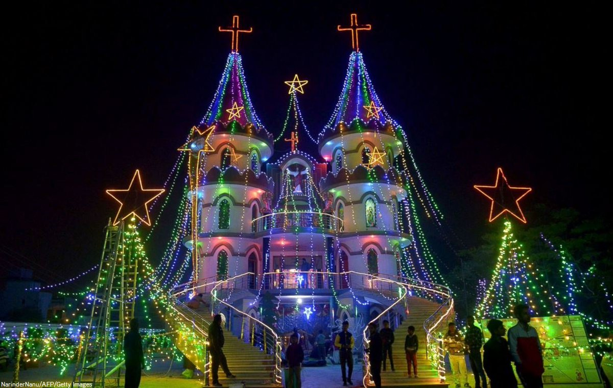 photos from india to colombia see the gorgeous christmas lights displays around the world
