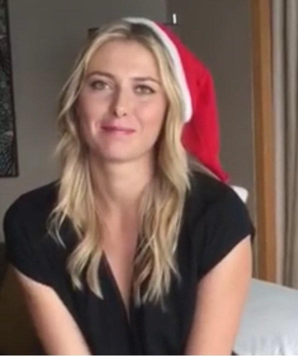 RT @PorscheTennis: Merry Christmas from @Porsche ambassador @MariaSharapova!! ???? ???? ???? ✨ ???? https://t.co/xjEYmEa1vK ???? https://t.co/qIWj9uwJOu