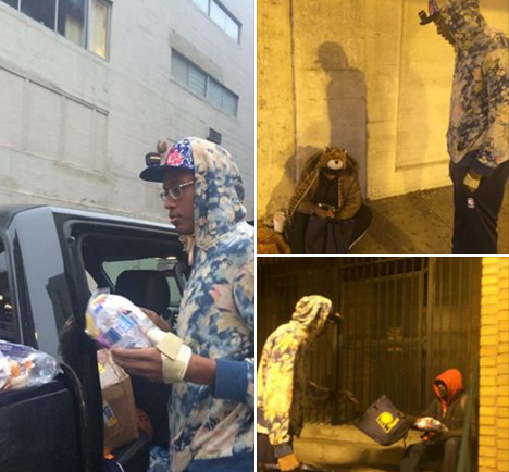 Myles Turner embraces the the spirit of giving more than just one day https://t.co/C85E7j845Y https://t.co/CnCLZApuA9