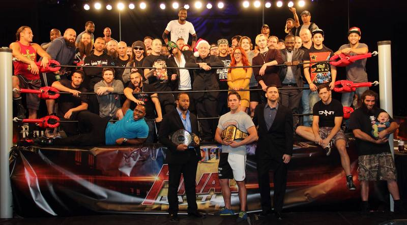 Happy Holidays from ROH @ringofhonor @rohcary @ROHDelirious @TruthMartini @AdamColePro @TheLethalJay @jaybriscoe84 https://t.co/gaf8B3mh4C