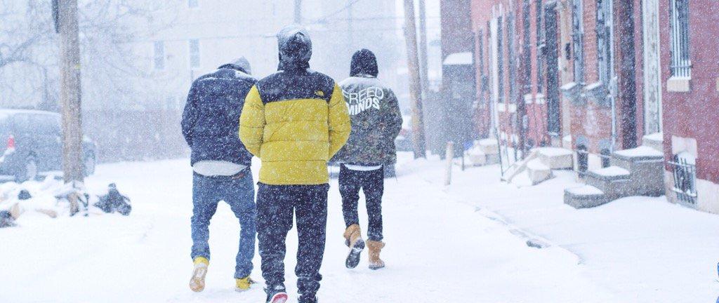 Dreaming of a white #Christmas? Ride w/ @GrandeMarshall through snowy Philadelphia https://t.co/S6TUxRO8kU https://t.co/Op5dFN8e5n