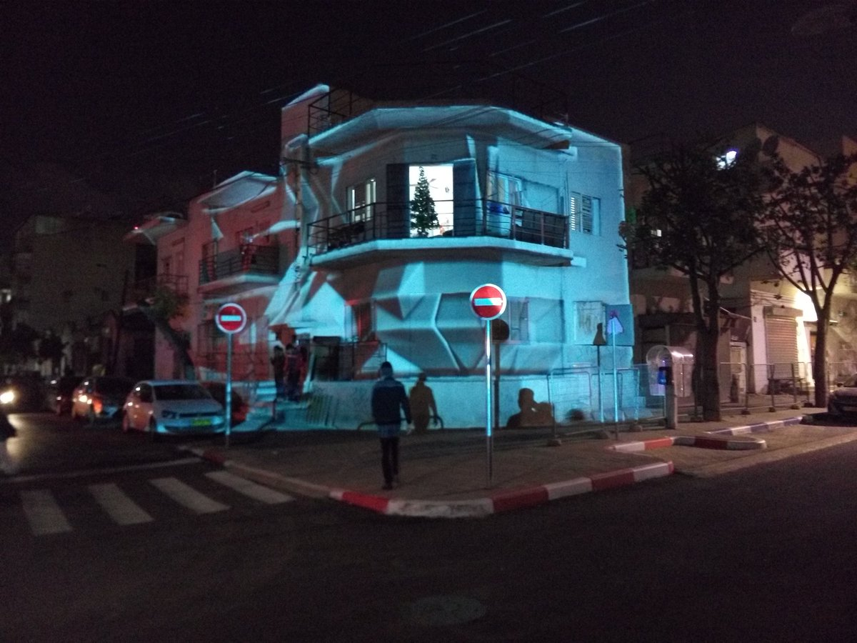 The Night Light Festival in Neve Shaanan neighborhood of #TelAviv #art #tlv #travel #light #festival #lightfestival https://t.co/F3kHSe8wxl