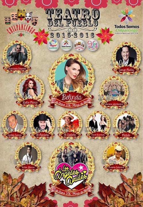 Guerreros!!!! Están listos??? Mañana último show de @DulceMaria de este 2015 #Chilpancingo @Sectur_Guerrero