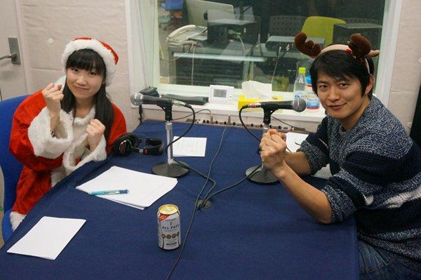 【WEBラジオ】下野紘さん&田所あずささんによるラジオのプレ放送が配信中です!皆さん、クリスマスはどう過ごされましたか?