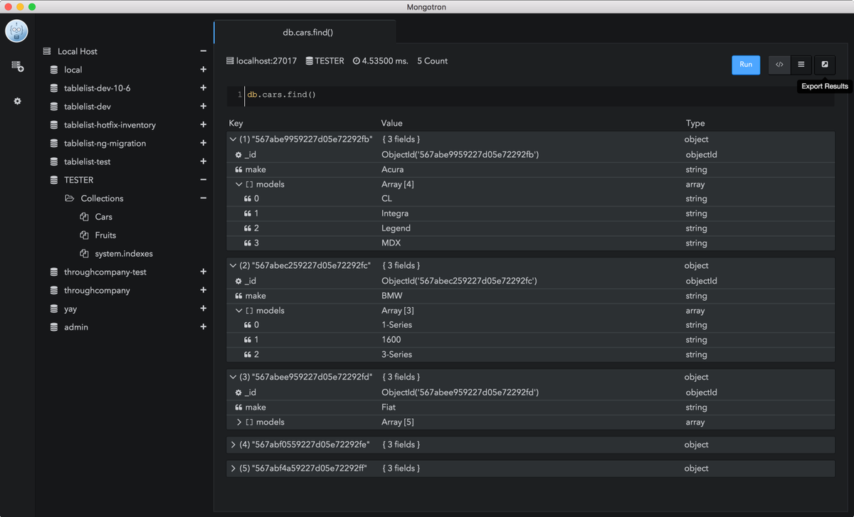 a new open source #mongoDB management tool build with #electron #javascript #angular  https://t.co/VrbTXsrmML https://t.co/Jfng3NMrPj