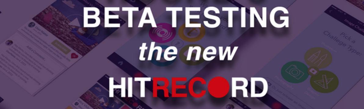 RT @hitRECord  Our Beta site's got all kinds of new features you can play with. Join here: https://t.co/KCFg12PO7E https://t.co/f8GvqUgiLw