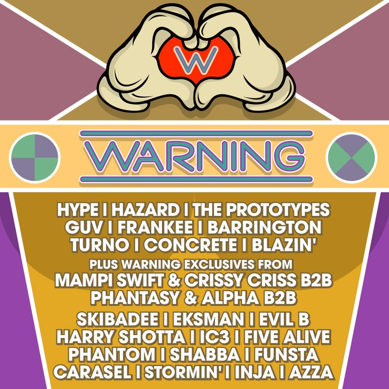 WARNING! SATURDAY 13TH FEBRUARY LINE UP Tickets & more info: https://t.co/yETzP8jvjJ 1st & 2nd Release Tix Sold Out! https://t.co/ZaTa1cV0c6