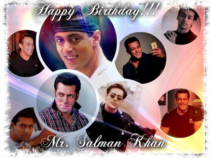 Happy Birthday!!! Mr. Salman Khan