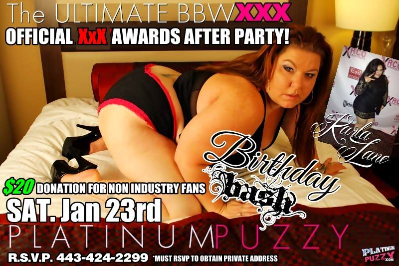 RT : Come turn up with us after the #AVNAwards! #bbw #ssbbw #party #celebrate #porn #pornstar