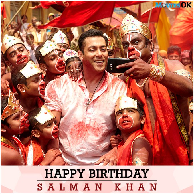 Here\s wishing a happy birthday. Tell us your favourite Salman Khan movie.