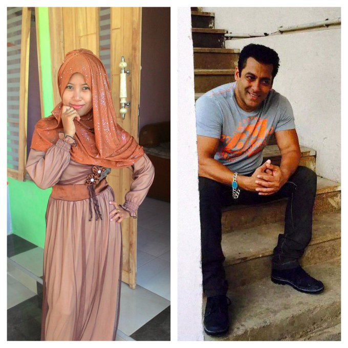 Happy Birthday Salman Khan... Wish you all the best. I\m big fan of you from Indonesia.. I Love You
