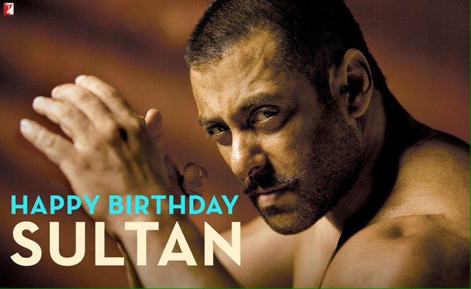 Happy Birthday Mr Salman Khan, the Sultan of Bollywood.