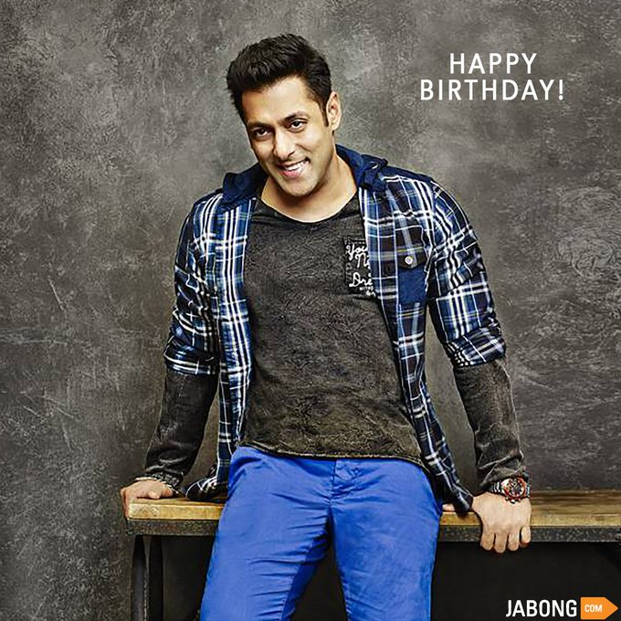 Here\s wishing a very happy birthday to the Fashion Icon- Superstar, Salman Khan!