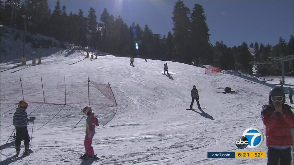 thousands expected at mountain high ski resort in wrightwood over